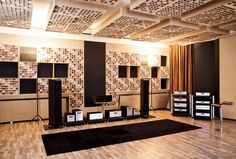 Audionet listening room