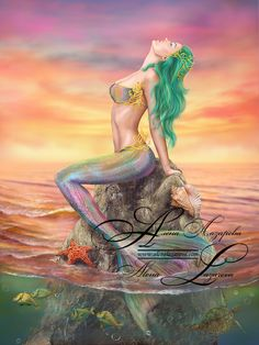 Mermaid/ Art by Alena Lazareva