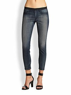 Helmut Lang Blue Wash Leggings