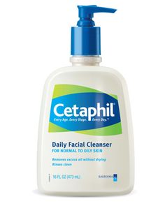Cetaphil Daily Facial Cleanser is super-gentle