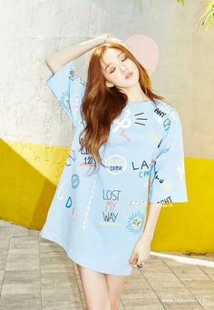Sung Kyung I love her outfit Ulzzang Fashion, Asian Fashion, Girl Fashion, Kpop Fashion, Ulzzang Girl, Style Outfits, Fashion Outfits, Casual Outfits, Lee Sung Kyung Fashion