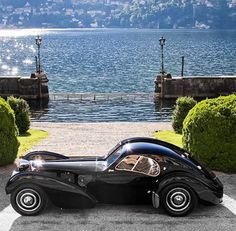 """• Ralph Lauren's Collection • ◾1938 Bugatti Type 57SC Atlantic  The most valuable car ever built with an estimated value close to $60,000,000! Ettore Bugatti once opined that """"Nothing is too beautiful, nothing is too expensive"""". Four Altantics were built but only two of them survive. No wonder the car chassis #57374 set a world record for the most expensive car ever sold during an auction in 2010 - It was sold by @goodingandcompany for $40,000,000. (Unofficial) #classiccarvoyage…"""