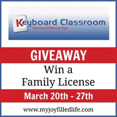 Keyboard Classroom {Blog Birthday Giveaway} - My Joy-Filled Life