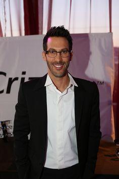 Golden Globes producer Assaf Blecher in Crizal UV lenses in Crizal UV lenses