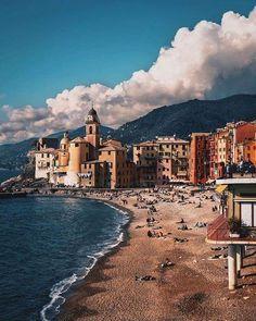 Buongiorno da Camogli Genova, Liguria. Pic by @residencekriss