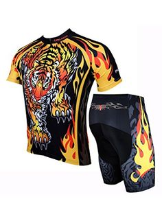 5c4207bc5 LAOYOU Tige Mens Cycling Jersey And Shorts Set Size XS     To view further