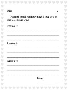 This Friendly Letter Packet Includes Templates To Use While