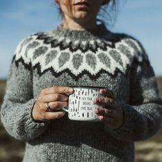 Lopapeysa = Icelandic Sweater