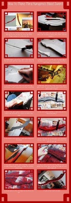 Mirai Kuriyama Blood Sword Tutorial by DPCosplay