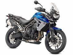 2015 Triumph Tiger 800 XRx in Caspian Blue