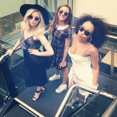 Perrie-Edwards, Jade-Thirlwall and Leigh-Anne-Pinnock Little Mix Outfits, Little Mix Style, Little Mix Girls, Cute Outfits, Little Mix Instagram, Litte Mix, Beautiful Blue Eyes, Beautiful People, Jesy Nelson
