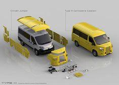 Citroen Type H - Caravan e Camper Granturismo Citroen Ds, Citroen Type H, Unique Cars, Kit Cars, Automobile, Van Life, Motor Car, Cars And Motorcycles, Cool Cars