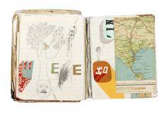 Oliver Jeffers Sketch books