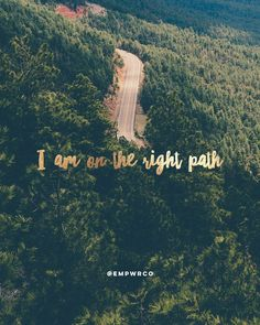 """""""The best way to find out whether you're on the right path? Stop looking at the…"""