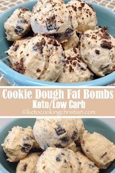 Cookie Dough Fat Bombs - Keto and Low Carb Let's be honest, cookie dough is just. Cookie Dough Fat Bombs - Keto and Low Carb Let's be . Keto Cookies, Keto Cookie Dough, Cookies Et Biscuits, Keto Fat, Low Carb Keto, Low Carb Recipes, High Fat Keto Foods, Chocolate Fat Bombs, Low Carb Chocolate
