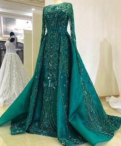 ROYAL couture beaded dress