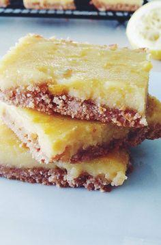 2. Lemon Bars #paleo #desserts http://greatist.com/eat/paleo-dessert-recipes