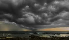Storm front - Photography by Larry Deng