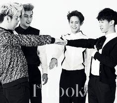 2014.05, 1st Look, Vol. 67, BEAST, Yong Junhyung, Yoon Doojoon, Yoseob, Kikwang
