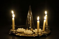 Christmas tree candle lights and clips - Deck the halls! www.christmasgiftsfromgermany.com