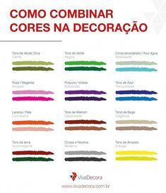Descubra como combinar as cores na hora de decorar e transforme os ambientes da … - Home Page Room Interior, Interior Design Living Room, Web Design, House Design, Decoration Inspiration, Home Hacks, Home Projects, Kitchen Decor, Sweet Home