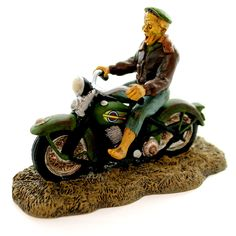 Dept 56 Accessories Ghost Rider On The Road Village Halloween Accessory