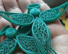 Quilled Angelo 2 di QuillingOwl su Etsy