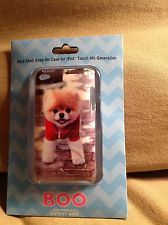 BOO the worlds Cutest Dog Ipod Touch 4th generation-Hard Shell Snap on Case