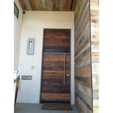A contemporary look from old wood!