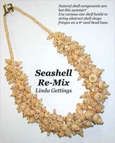 Seashell Re-Mix Necklace Beading Pattern - A project from Issue 24 (Jul/Aug 2009) Summer Issue of Bead-Patterns the Magazine at Sova-Enterprises.com!