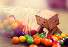 Candy sweets jar danbo photography cute