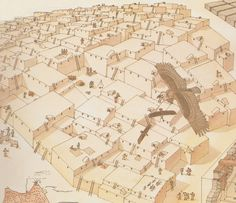 Giovanni Caselli - Çatalhöyük 7,500 to 5,700 BCE is the best preserved early Neolithic town to date.