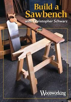 Follow along with one of Christopher Schwarz 's most popular woodworking classes and watch as Chris and 10 students build sawbenches entirely by hand. Description from shopwoodworking.com. I searched for this on bing.com/images