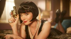Miss Fisher's Murder Mysteries is without a doubt the most stylish show on television (sorry Mad Men ). Think embroidered silk kimonos, fu. Miss Marple, Agatha Christie, Essie, Miss Fisher, Diesel, Australian Authors, Tv Reviews, Anita, Mystery Series