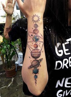 38 Ideas tattoo arm maori art designs tattoo old school tattoo arm tattoo tattoo tattoos tattoo antebrazo arm sleeve tattoo Mini Tattoos, Body Art Tattoos, New Tattoos, Small Tattoos, Tattoos For Guys, Tattoos For Women, Tatoos, Outer Space Tattoos, Water Color Tattoos