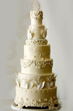 Copy of the Duke and Duchess of Cambridge's Wedding Cake