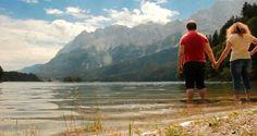 #tsū #zugspitze #beautiful #wonderful #alps #alpen #germany #deutschland #nature #landscape #lake