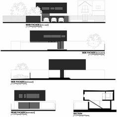 Black On White House by Parasite Studio