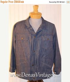 50% Off SALE 60s Vintage Unisex Men's by DenasVintageCloset
