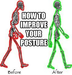 10 Easy Ways To Improve Your Posture. If you want to improve your posture, this is the definitive guide to fixing your body alignment: http://www.musclehack.com/10-easy-ways-to-improve-your-posture/