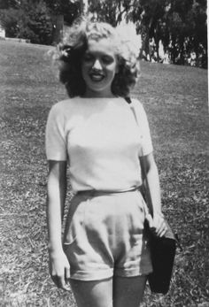 Norma Jeane Dougherty in 1945, before she was Marilyn Monroe
