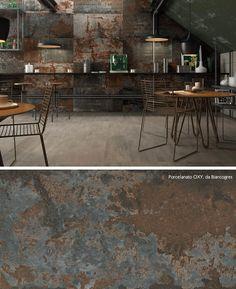 Porcelanato Biancogres | Aço Corten inspira novos revestimentos