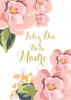 Mother s Day Printable- Dia de las Madres Feliz dia de la Madre Happy Mothers Day Printable Mother's Day Printables, Mom Day, Happy Mothers Day, Holiday Parties, Yule, Daddy, Instagram, Quotes, Image