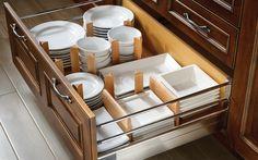 Wood Organizer System | Wood-Mode | Fine Custom Cabinetry