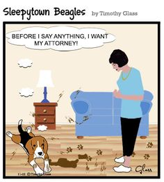 Please Help the Sleepytown Beagles Cartoon series by purchasing a cartoon reprint. Sleepytown Beagles Cartoon We can provide any of our cartoons to you as reprints $12.95 Free Shipping! (first class mail. US ONLY) each. To see more cartoons, visit our website at www.timglass.com/... Please follow us on GoComics www.gocomics.com/... Check us out on Facebook https://www.facebook.com/pages/Timothy-Glass/146746625258?ref=ts