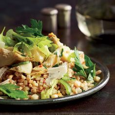 ... on Pinterest | Farro salad, Brown rice recipes and Brown rice pilaf