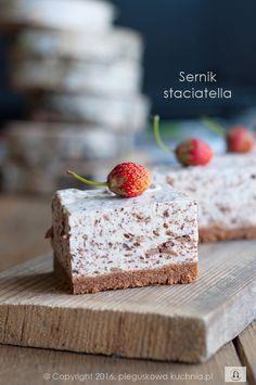 SERNIK STRACIATELLA BEZ PIECZENIA #cheesecake #sernik #sernik_bez_pieczenia #straciatella #cheesecakerecipes