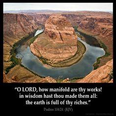 Psalms 104:24 KJB