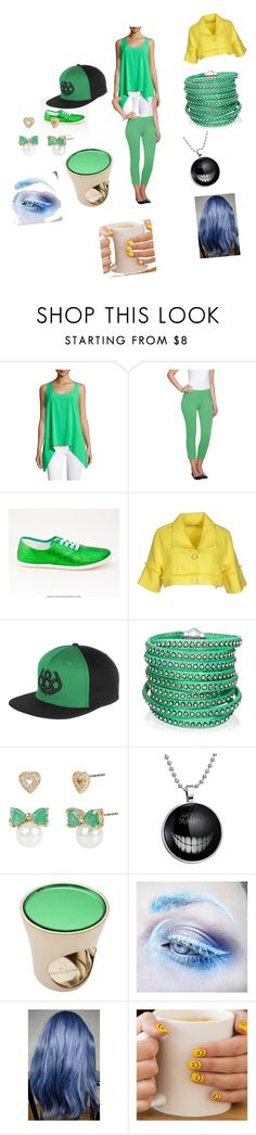 """mad hatter"" by vyesica-yv on Polyvore featuring C&C California, Susan Graver, Fornarina, 686, Sif Jakobs Jewellery, Betsey Johnson, Jil Sander and Medusa's Makeup"