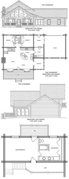 Model log home kits